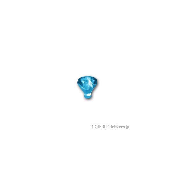 レゴパーツばら売り宝石:トランスライトブルー|lego部品ミニフィギュア宝クリスタルジェムストーン