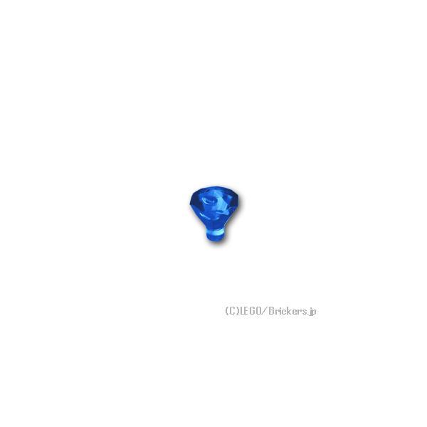 レゴパーツばら売り宝石:トランスブルー|lego部品ミニフィギュア宝クリスタルジェムストーン
