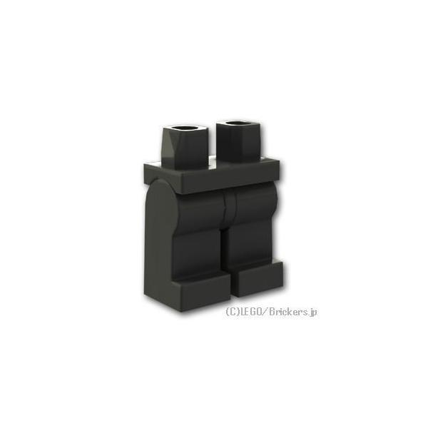 レゴパーツばら売りミニフィグレッグ:ブラック|lego部品ミニフィギュア足