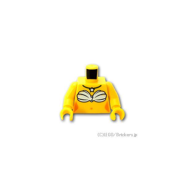 レゴ パーツ ばら売り トルソー - 人魚:イエロー | lego 部品 ミニフィギュア ボディ 人形