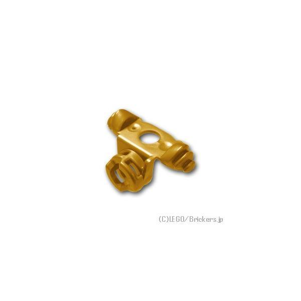 レゴパーツばら売りアーマーショルダーパッド2刀用の鞘:パールゴールド|lego部品ニンジャゴー忍者ニンジャ刀