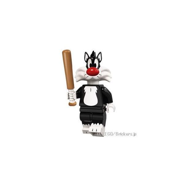 レゴミニフィギュアルーニー・テューンズミニフィグシルベスター・キャット|lego人形