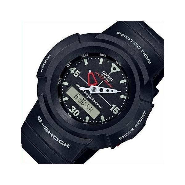 CASIOG-SHOCKカシオGショックデジアナモデルメンズ腕時計ブラック海外モデルAW-500E-1E