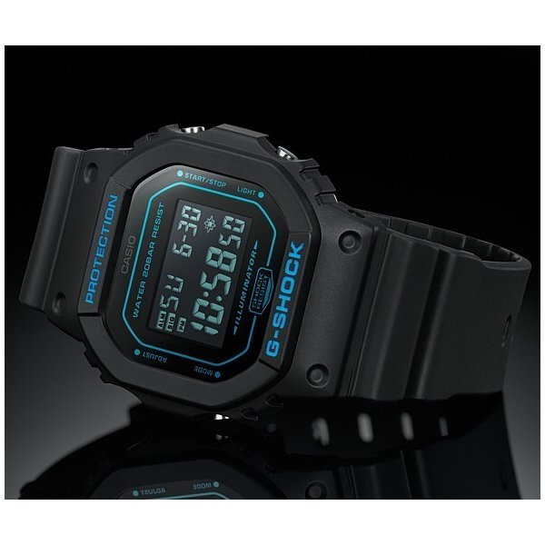 CASIO G-SHOCK カシオ Gショック メンズ腕時計 ベーシックモデル ブラック 海外モデル DW-5600BBM-1|bright-bright|02