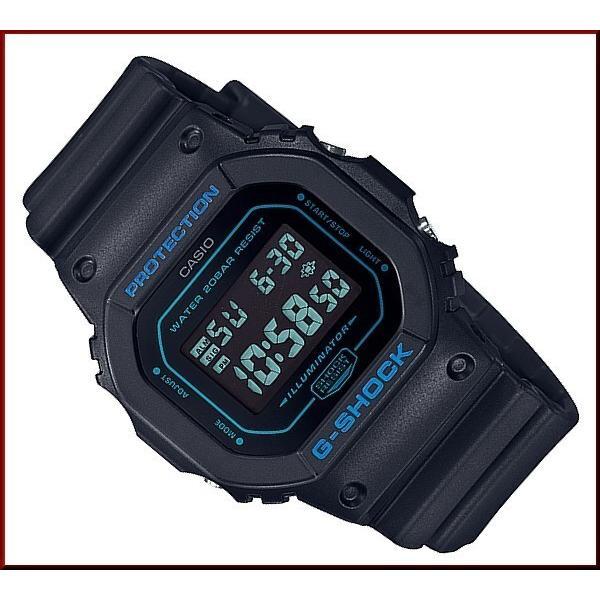 CASIO G-SHOCK カシオ Gショック メンズ腕時計 ベーシックモデル ブラック 海外モデル DW-5600BBM-1|bright-bright|06