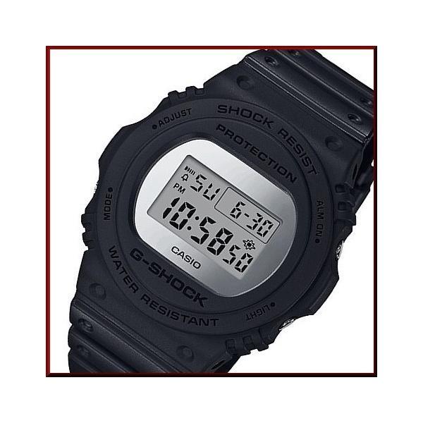 CASIOG-SHOCKカシオGショックメンズ腕時計メタリック・ミラーフェイスベーシックモデルブラック海外モデルDW-5700B