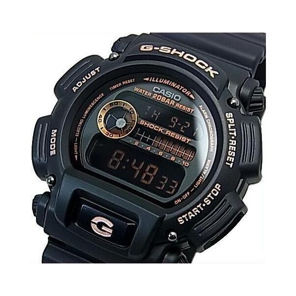 CASIO G-SHOCK カシオ Gショック BASIC ベーシック ブラック/ローズゴールド 海外モデル DW-9052GBX-1A4|bright-bright