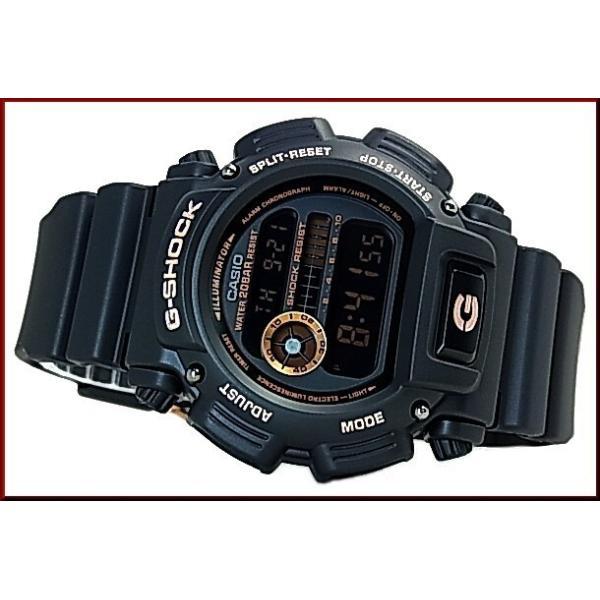 CASIO G-SHOCK カシオ Gショック BASIC ベーシック ブラック/ローズゴールド 海外モデル DW-9052GBX-1A4|bright-bright|02