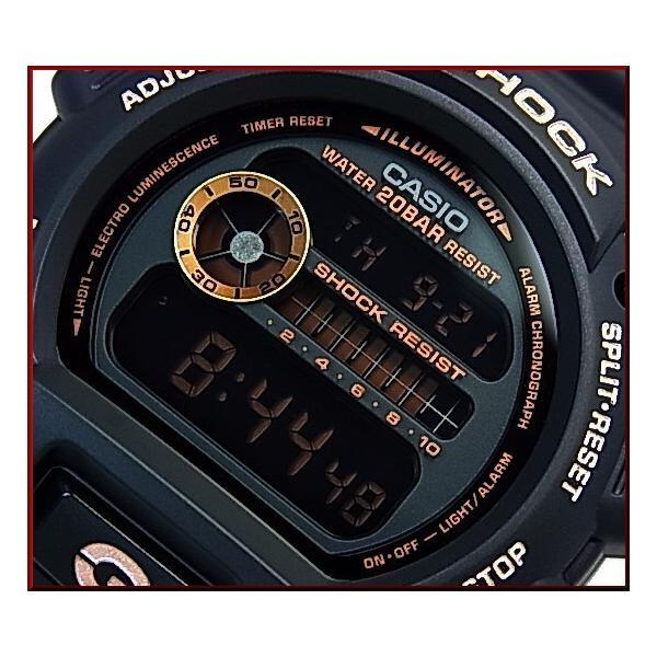 CASIO G-SHOCK カシオ Gショック BASIC ベーシック ブラック/ローズゴールド 海外モデル DW-9052GBX-1A4|bright-bright|03