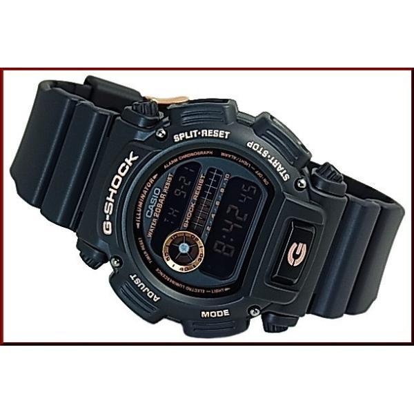 CASIO G-SHOCK カシオ Gショック BASIC ベーシック ブラック/ローズゴールド 海外モデル DW-9052GBX-1A4|bright-bright|05