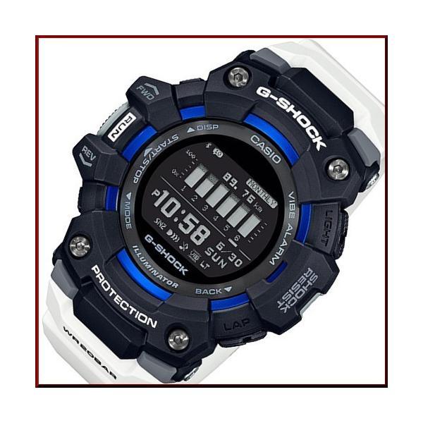 CASIOG-SHOCKカシオGショックジー・スクワットモバイルリンクモデルメンズ腕時計ホワイト/ブラック海外モデルGBD-10