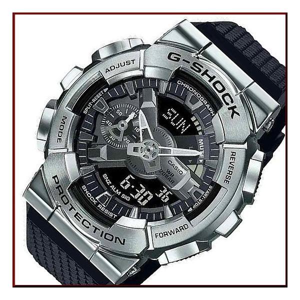 CASIOG-SHOCKカシオGショックメンズ腕時計アナデジメタルケースモデルブラック海外モデルGM-110-1A