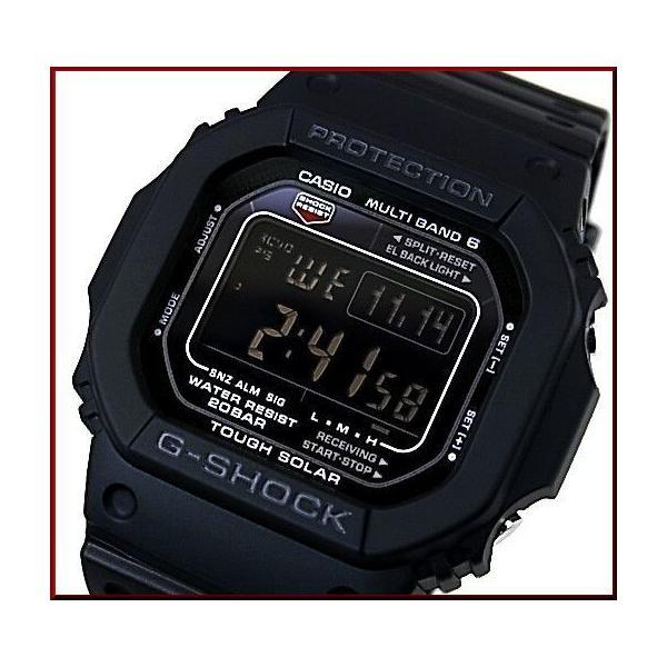 CASIOG-SHOCKカシオGショックソーラー電波腕時計マルチバンド6New5600シリーズGW-M5610-1B海外モデル