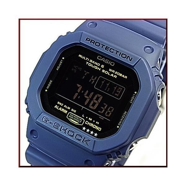 CASIO / G-SHOCK / Baby-G カシオ / Gショック /ベビーG ペアウォッチ ソーラー電波腕時計 ネイビー/イエロー 国内正規品 GW-M5610NV-2JF/BGD-5000MD-9JF bright-bright 03