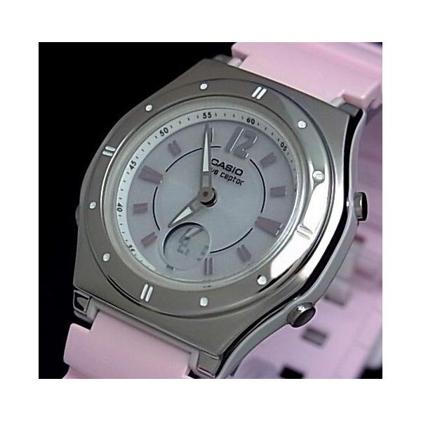 CASIO / Wave Ceptor カシオ / ウェーブセプター レディース腕時計 ソーラー電波腕時計 ライトピンク ラバーベルト LWA-M142-4AJF 国内正規品 bright-bright