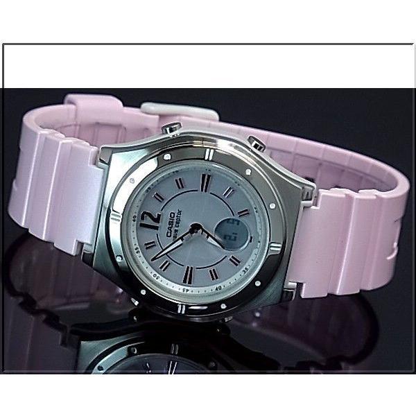 CASIO / Wave Ceptor カシオ / ウェーブセプター レディース腕時計 ソーラー電波腕時計 ライトピンク ラバーベルト LWA-M142-4AJF 国内正規品 bright-bright 02