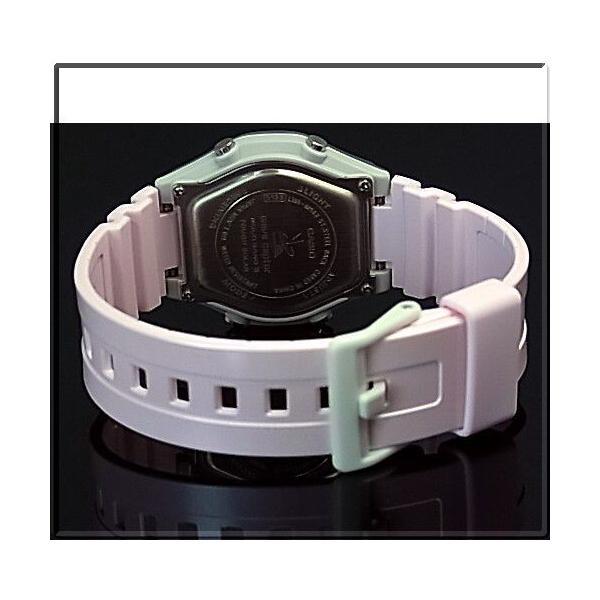 CASIO / Wave Ceptor カシオ / ウェーブセプター レディース腕時計 ソーラー電波腕時計 ライトピンク ラバーベルト LWA-M142-4AJF 国内正規品 bright-bright 03