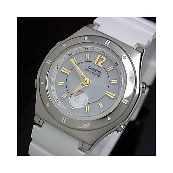 CASIO / Wave Ceptor カシオ / ウェーブセプター レディース腕時計 ソーラー電波腕時計 ホワイト ラバーベルト LWA-M142-7AJF 国内正規品|bright-bright