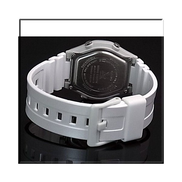 CASIO / Wave Ceptor カシオ / ウェーブセプター レディース腕時計 ソーラー電波腕時計 ホワイト ラバーベルト LWA-M142-7AJF 国内正規品|bright-bright|03