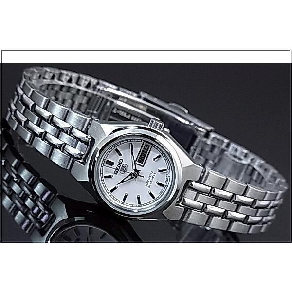 SEIKO / SEIKO5 セイコー5 / セイコーファイブ ペアウォッチ 自動巻腕時計 メタルベルト シルバー文字盤 海外モデル SNK299K1/SYM787K1|bright-bright|03