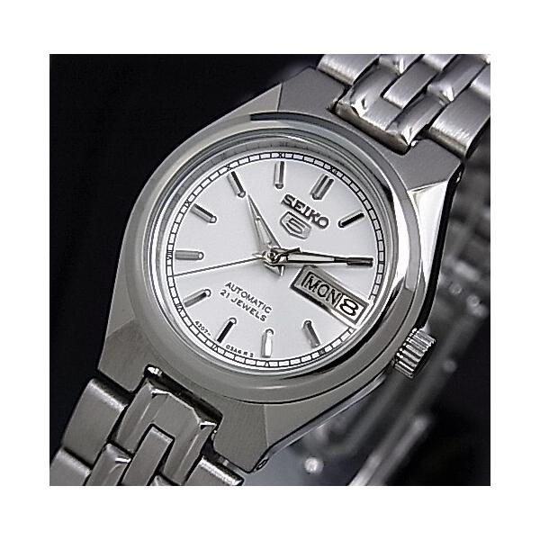 SEIKO / SEIKO5 セイコー5 / セイコーファイブ ペアウォッチ 自動巻腕時計 メタルベルト シルバー文字盤 海外モデル SNK299K1/SYM787K1|bright-bright|05