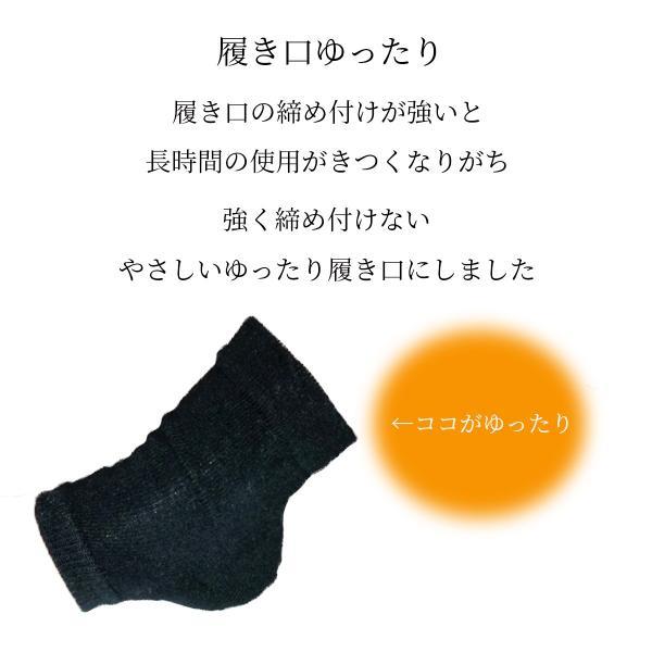 かかとツルツル靴下 かかと 角質ケア かかとひび割れ 靴下 かかとケア つるつる  カサカサ 保湿ジェル おやすみ 寝る セット|bright-online-store|13