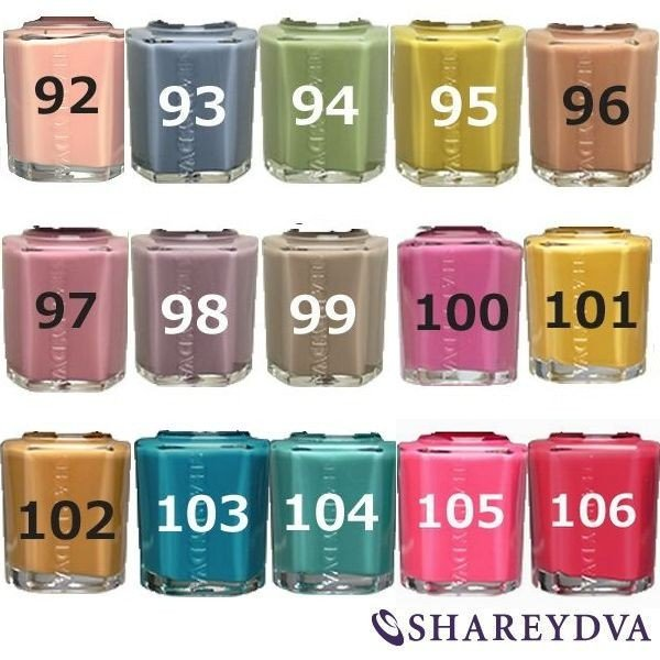 シャレドワ ネイルポリッシュ カラー 15ml SHAREYDVA 鮮やかに目を引く発色の良さ bright08 03