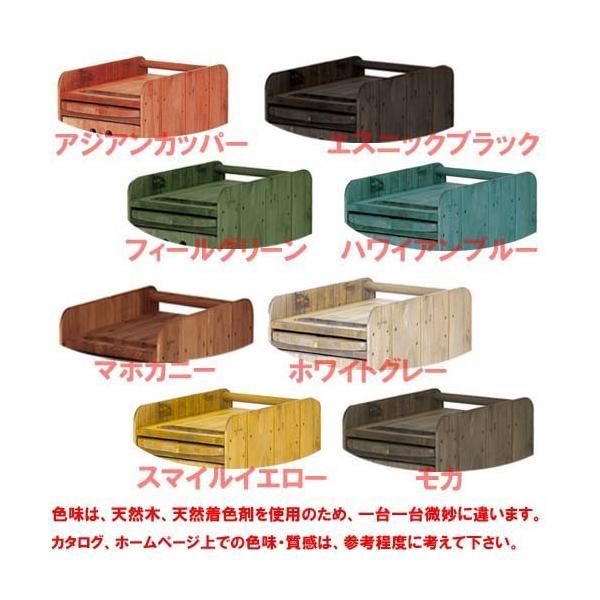 代引き不可 ワイエスパーク マルチパーパス ワゴン YS-F11 木製ワゴン Y.S.PARK|bright08|02