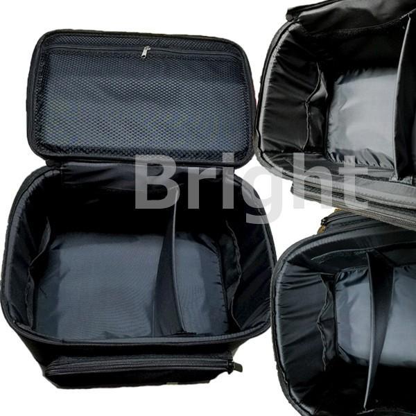 オリジナルコスメボックス ニッパー、筆が収納できる取り外しできるミニケース付き (コスメケース・メイクボックス)|bright08|02