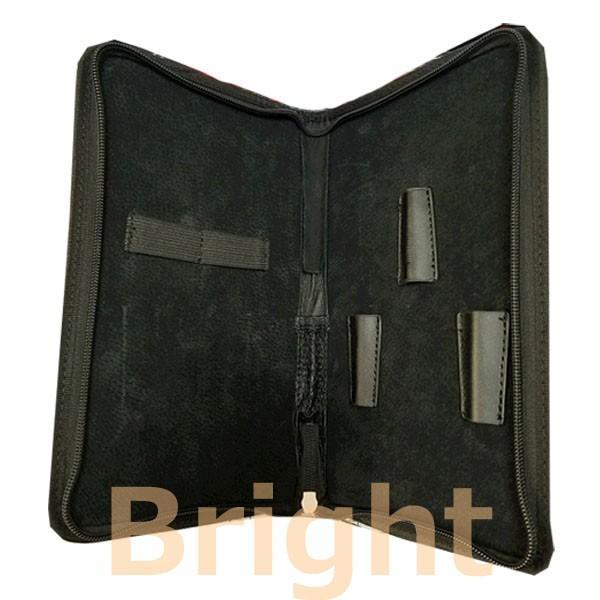 超目玉品 TBG シザーケース GL033 シザー3丁入れ 豚革使用 シザー、コーム収納に|bright08|02