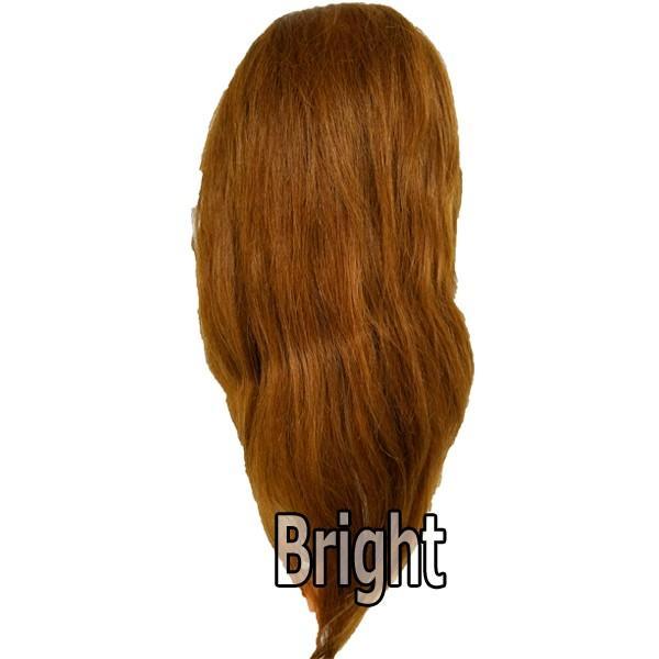 人毛100% セットアップウィッグ 茶髪 キタムラ アップウィッグ アップスタイルの練習に。KITAMURA|bright08|04