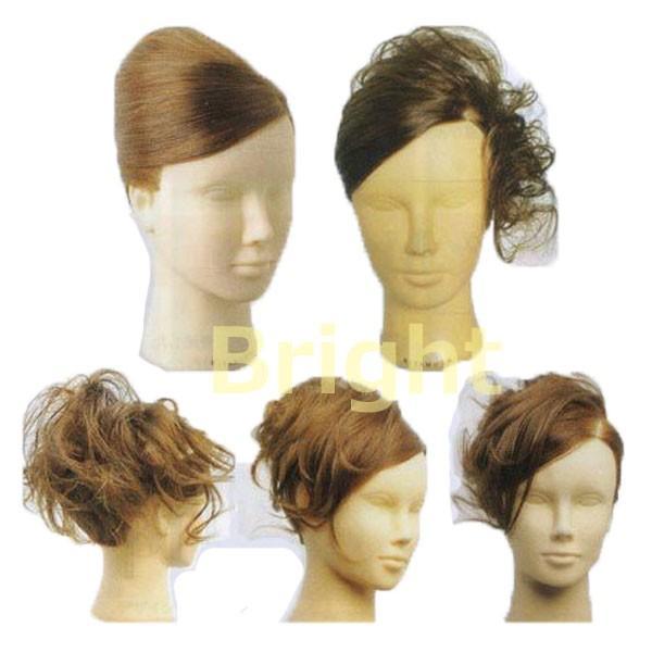 人毛100% セットアップウィッグ 茶髪 キタムラ アップウィッグ アップスタイルの練習に。KITAMURA|bright08|05