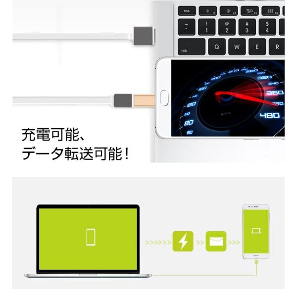 type c 変換 USB Type C アダプタ Type-C to USB Micro-B 変換アダプター 3色 タイプC typec 変換 usb type-c アダプター micro 変換 アダプタ  brightcosplay 04