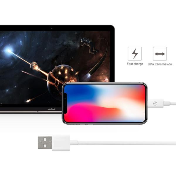 iPhone ケーブル iphonex XS max充電器 mfi認証 純正同等品 iphone7 断線しにくい 0.5m/1m/2m usbケーブル ipad ライトニングケーブルiPhoneXS XR|brightcosplay|03