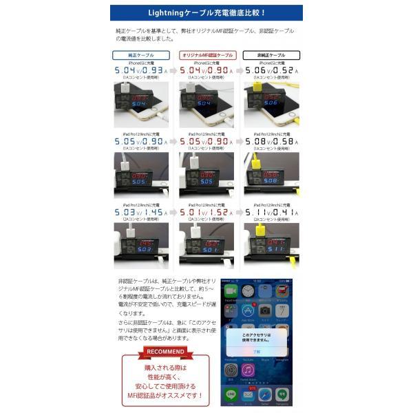 iPhone ケーブル iphonex XS max充電器 mfi認証 純正同等品 iphone7 断線しにくい 0.5m/1m/2m usbケーブル ipad ライトニングケーブルiPhoneXS XR|brightcosplay|08