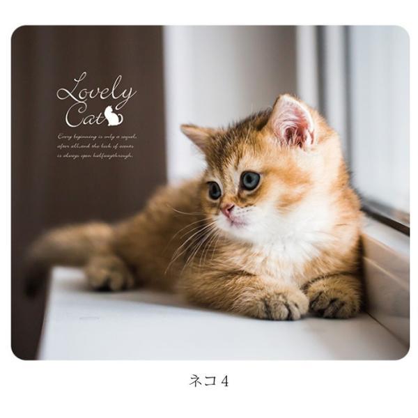 マウスパッド かわいい 猫 おしゃれ ネコ パソコン マウス シリコン レーザー&光学式マウス対応マウスパッド おしゃれ かわいい ミニ brightcosplay 11