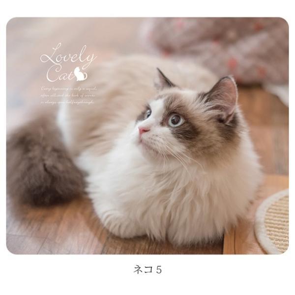マウスパッド かわいい 猫 おしゃれ ネコ パソコン マウス シリコン レーザー&光学式マウス対応マウスパッド おしゃれ かわいい ミニ brightcosplay 12