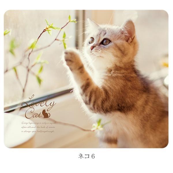 マウスパッド かわいい 猫 おしゃれ ネコ パソコン マウス シリコン レーザー&光学式マウス対応マウスパッド おしゃれ かわいい ミニ brightcosplay 13