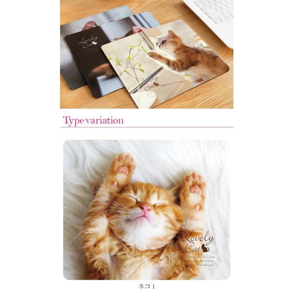マウスパッド かわいい 猫 おしゃれ ネコ パソコン マウス シリコン レーザー&光学式マウス対応マウスパッド おしゃれ かわいい ミニ brightcosplay 08
