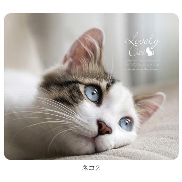 マウスパッド かわいい 猫 おしゃれ ネコ パソコン マウス シリコン レーザー&光学式マウス対応マウスパッド おしゃれ かわいい ミニ brightcosplay 09