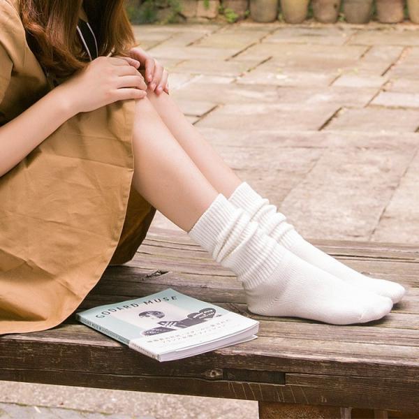 レディース 定番 秋冬 2セットくしゅくしゅして履く ソックス くつ下 靴下 足冷え ショートソックス かわいい 暖かい 秋 冬 冷え取り|brightcosplay|08