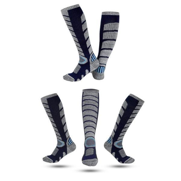 ハイソックス アウトドア スノーボード ソックス ロング 登山 レディース メンズ スノーボード スキー トレッキング ふくらはぎ丈 ウォーキング ソックス|brightcosplay|09