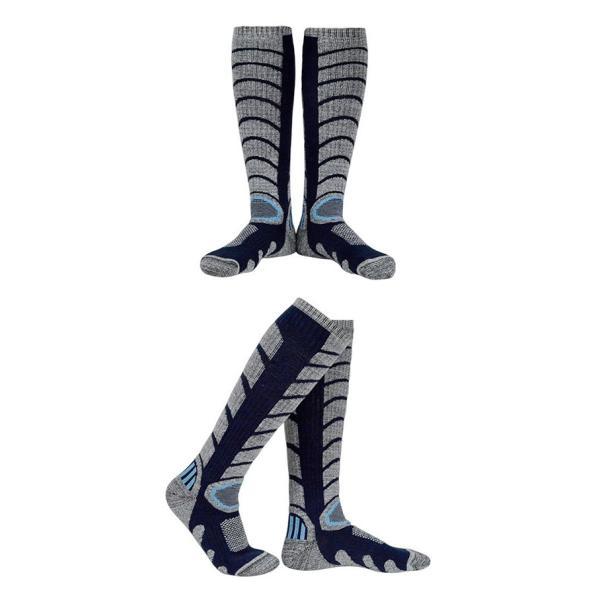 ハイソックス アウトドア スノーボード ソックス ロング 登山 レディース メンズ スノーボード スキー トレッキング ふくらはぎ丈 ウォーキング ソックス|brightcosplay|10