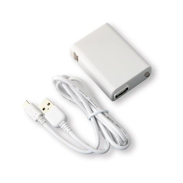 2A USB AC Adaptor + microUSB Cable Set for Tablet タブレット用2A USB/ACアダプタ+microUSBケーブル|brightonnetshop|02