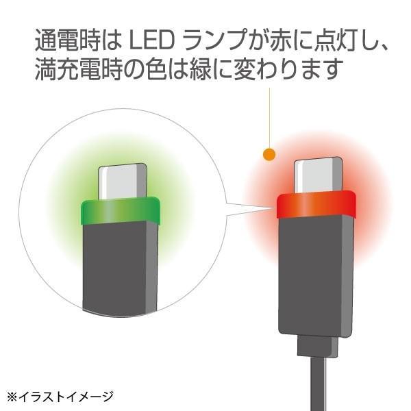 LED付き 両面挿しmicro-USB ACアダプター|brightonnetshop|03