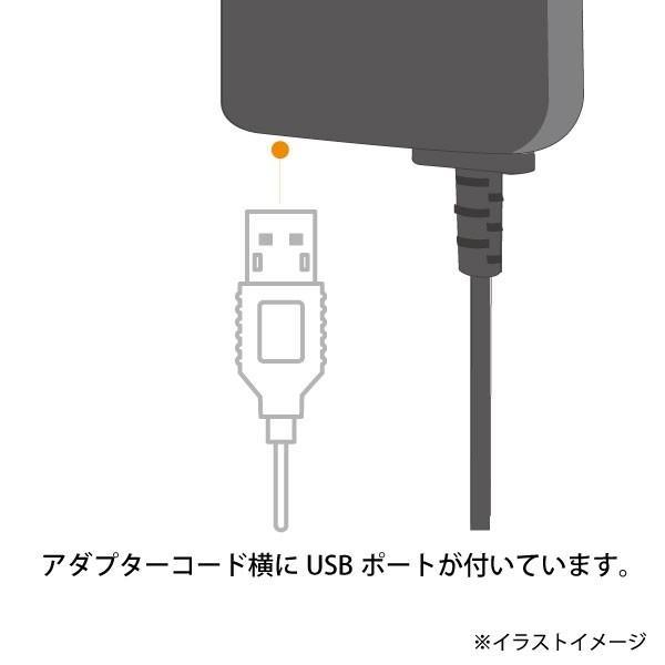 LED付き 両面挿しmicro-USB ACアダプター|brightonnetshop|05