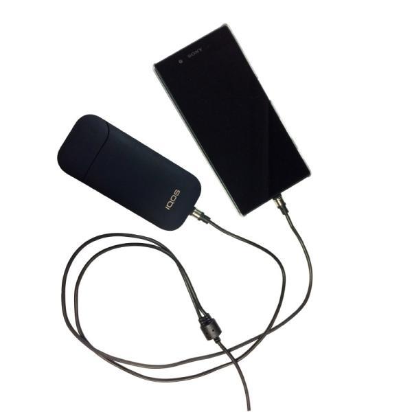 マグネット式 充電専用 二股ケーブル (USB-Type C/Micro USB)|brightonnetshop
