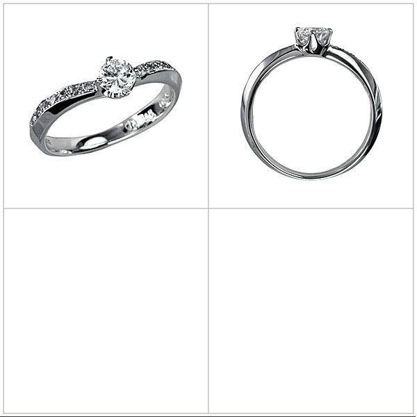 ダイヤモンド リング エンゲージリング 婚約指輪 結婚指輪 Pt900 プラチナ ダイヤモンド オーリィット(中石別売)
