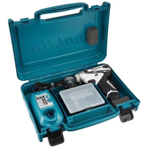 マキタ 充電式インパクトドライバ 10.8V 1.3Ah 白 バッテリー2個付き TD090DWXW brigshop 03