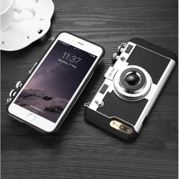 iPhoneケース レトロカメラ型 iPhoneケース iPhone7/7Plus iPhone8/8Plus アイフォン スマホカバー  送料無料|brillerjapan|04